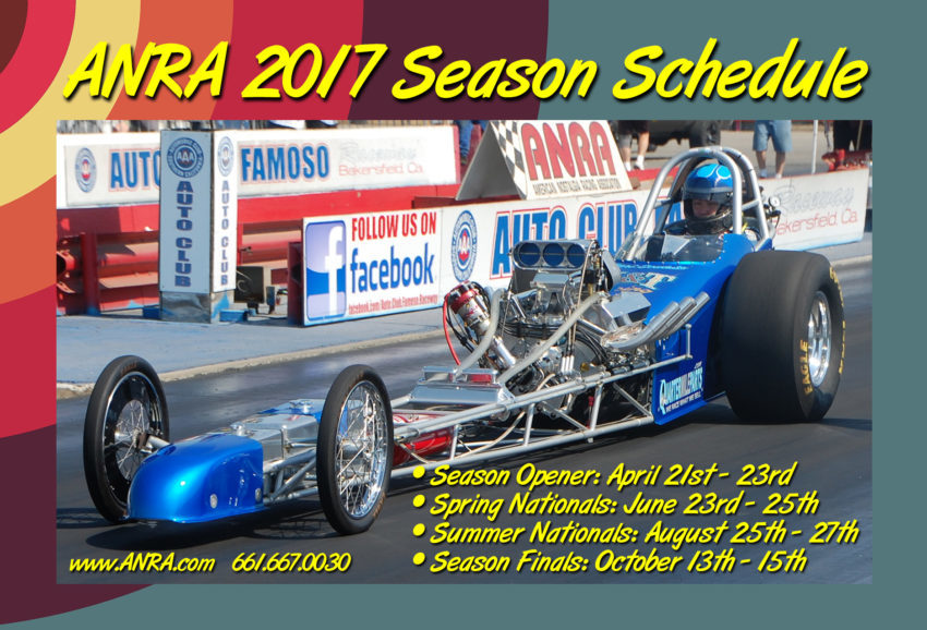 ANRA 2017 Schedule